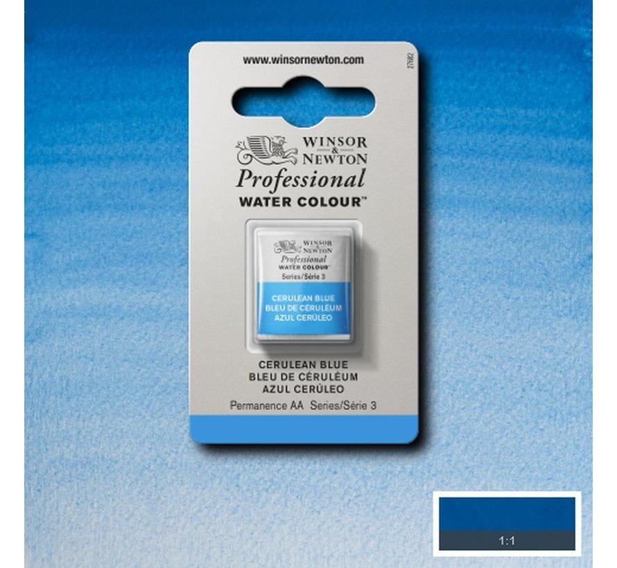 W&N pro. aquarelverf halve nap Cerulean Blue S3