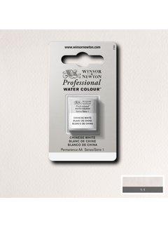 Winsor & Newton W&N pro. aquarelverf halve nap Chinese White S1