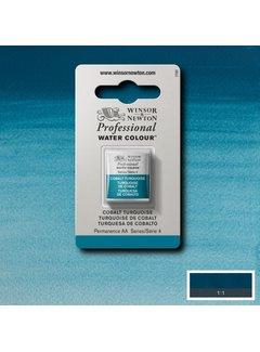 Winsor & Newton W&N pro. aquarelverf halve nap Cobalt Turquoise S4