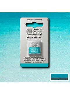 Winsor & Newton W&N pro. aquarelverf halve nap Cobalt Turquoise Light S4