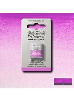 Winsor & Newton W&N pro. aquarelverf halve nap Cobalt Violet S4