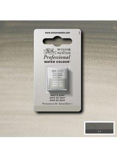 Winsor & Newton W&N pro. aquarelverf halve nap Davys Grey S1