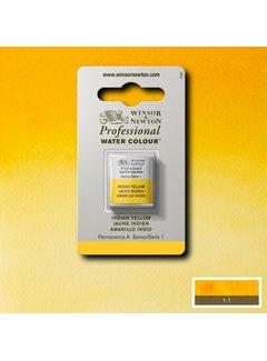 Winsor & Newton W&N pro. aquarelverf halve nap Indian Yellow S1