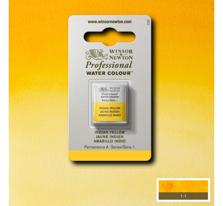 W&N pro. aquarelverf halve nap Indian Yellow S1