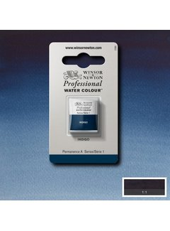 Winsor & Newton W&N pro. aquarelverf halve nap Indigo S1