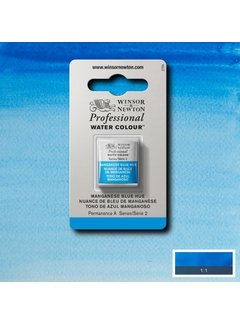 Winsor & Newton W&N pro. aquarelverf halve nap Manganese Blue Hue S2