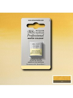 Winsor & Newton W&N pro. aquarelverf halve nap Naples Yellow S1