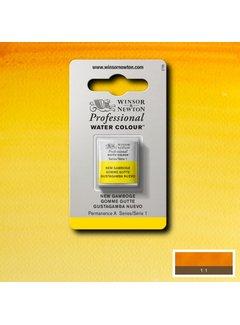 Winsor & Newton W&N pro. aquarelverf halve nap New Gamboge S1
