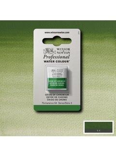 Winsor & Newton W&N pro. aquarelverf halve nap Oxide of Chromium S3