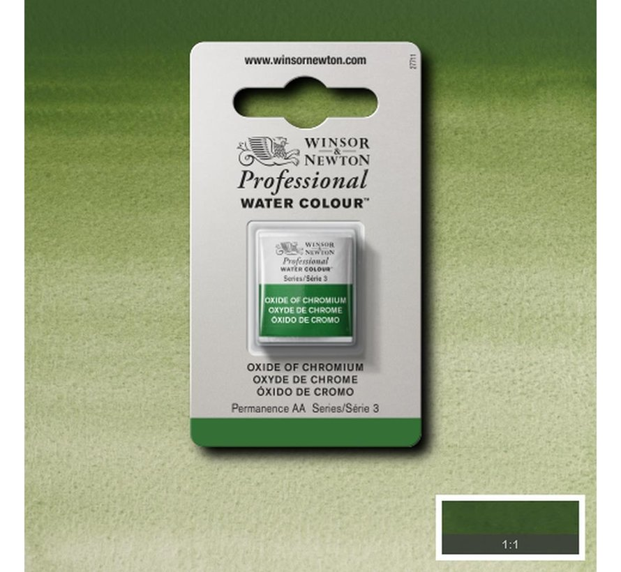 W&N pro. aquarelverf halve nap Oxide of Chromium S3