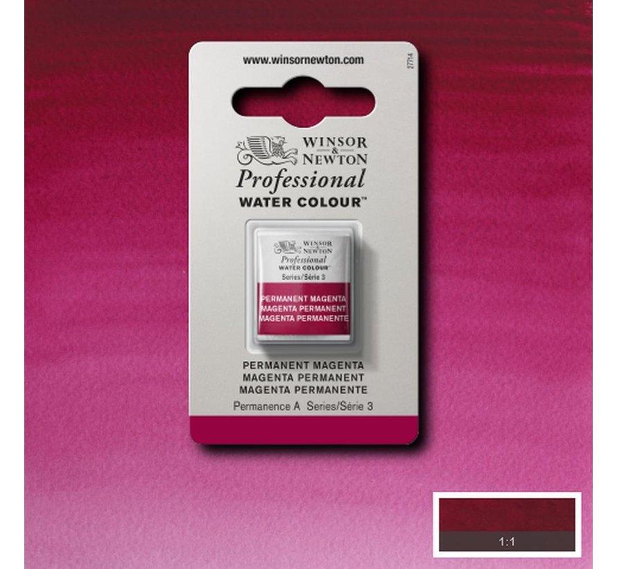 W&N pro. aquarelverf halve nap Permanent Magenta S3