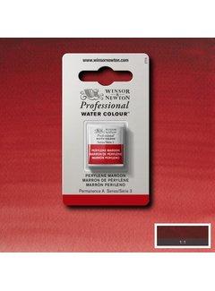 Winsor & Newton W&N pro. aquarelverf halve nap Perylene Maroon S3