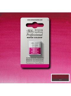 Winsor & Newton W&N pro. aquarelverf halve nap Quinacridone Magenta S3