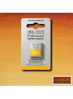 Winsor & Newton W&N pro. aquarelverf halve nap Quinacridone Gold S3