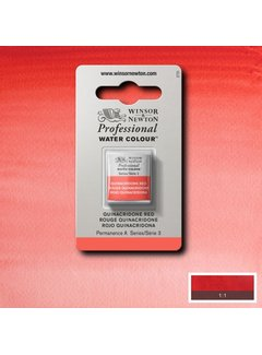 Winsor & Newton W&N pro. aquarelverf halve nap Quinacridone Red S3