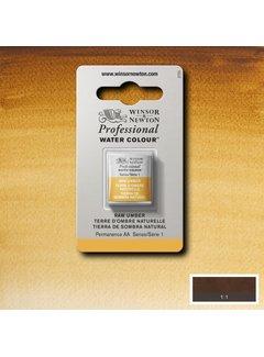 Winsor & Newton W&N pro. aquarelverf halve nap Raw Umber S1