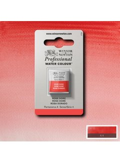 Winsor & Newton W&N pro. aquarelverf halve nap Rose Dore S4
