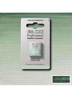 Winsor & Newton W&N pro. aquarelverf halve nap Terre Verte S1