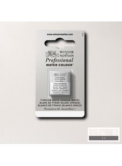 Winsor & Newton W&N pro. aquarelverf halve nap Titanium White S1