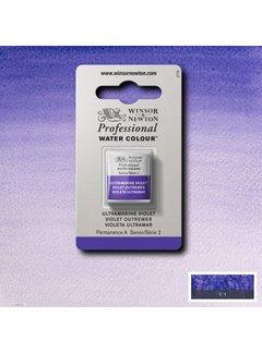 Winsor & Newton W&N pro. aquarelverf halve nap Ultramarine Violet S2