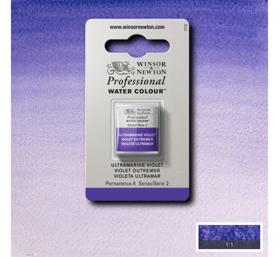 W&N pro. aquarelverf halve nap Ultramarine Violet S2