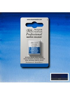 Winsor & Newton W&N pro. aquarelverf halve nap Winsor Blue (Red shade) S1