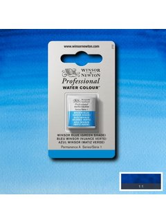 Winsor & Newton W&N pro. aquarelverf halve nap Winsor Blue (Green shade) S1