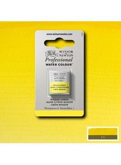 Winsor & Newton W&N pro. aquarelverf halve nap Winsor Lemon S1