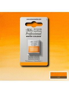 Winsor & Newton W&N pro. aquarelverf halve nap Winsor Orange S1