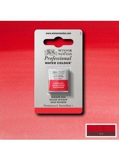 Winsor & Newton W&N pro. aquarelverf halve nap Winsor Red S1
