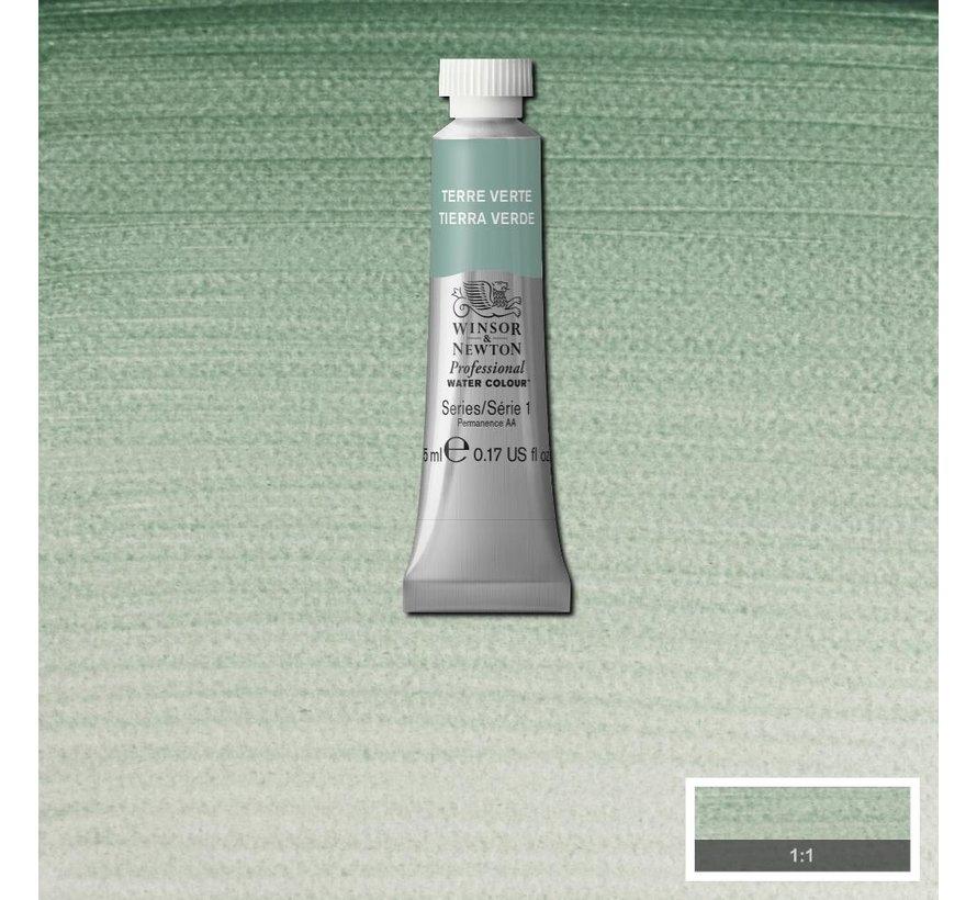 W&N pro. aquarelverf tube 5ml Terre Verte