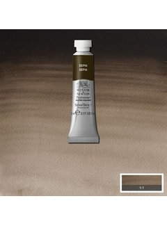 Winsor & Newton W&N pro. aquarelverf tube 5ml Sepia
