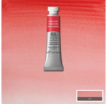Winsor & Newton W&N pro. aquarelverf tube 5ml Rose Dore