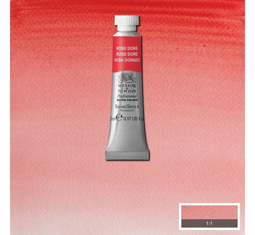 W&N pro. aquarelverf tube 5ml Rose Dore