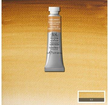Winsor & Newton W&N pro. aquarelverf tube 5ml Raw Umber