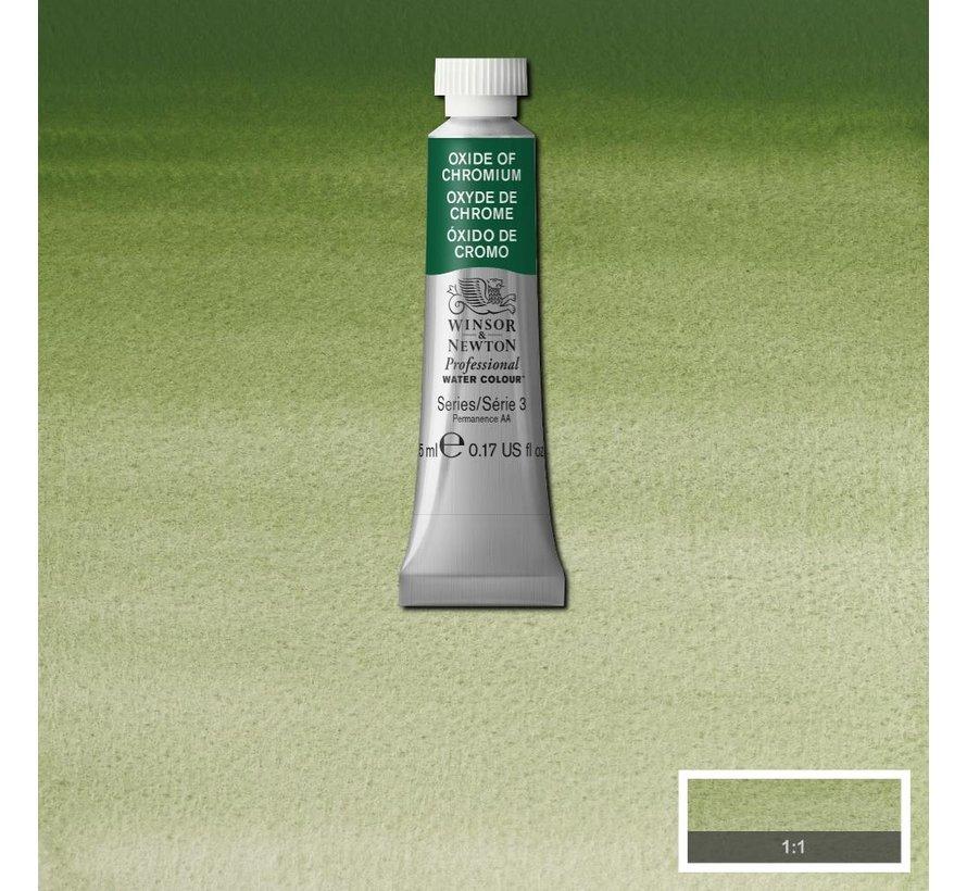 W&N pro. aquarelverf tube 5ml Oxide Of Chromium