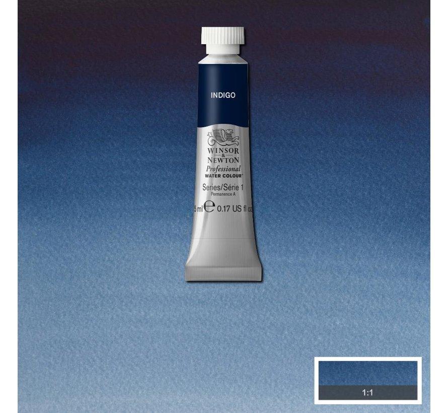 W&N pro. aquarelverf tube 5ml Indigo