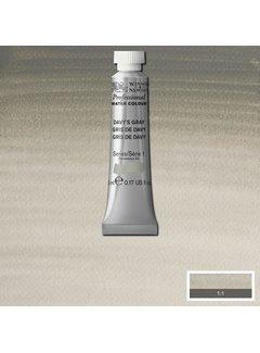 Winsor & Newton W&N pro. aquarelverf tube 5ml Davy's Gray