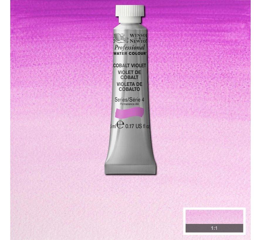 W&N pro. aquarelverf tube 5ml Cobalt Violet