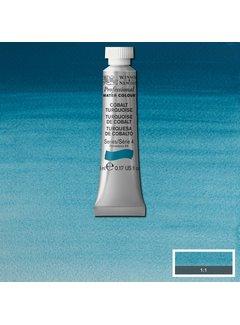 Winsor & Newton W&N pro. aquarelverf tube 5ml Cobalt Turquoise