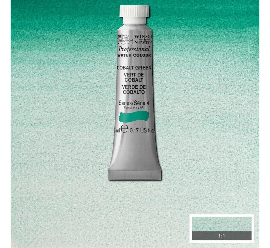 W&N pro. aquarelverf tube 5ml Cobalt Green