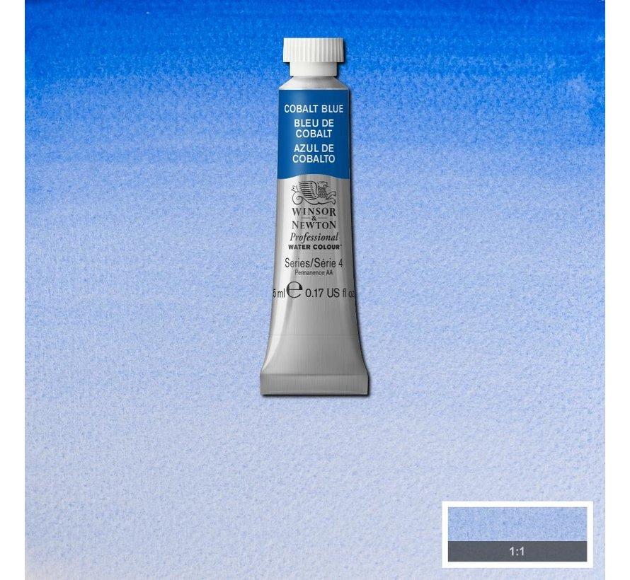 W&N pro. aquarelverf tube 5ml Cobalt Blue