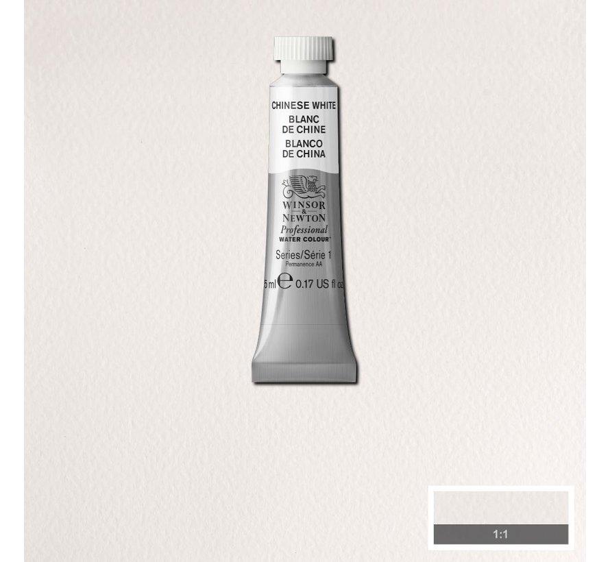 W&N pro. aquarelverf tube 5ml Chinese White