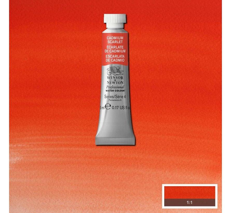 W&N pro. aquarelverf tube 5ml Cadmium Scarlet