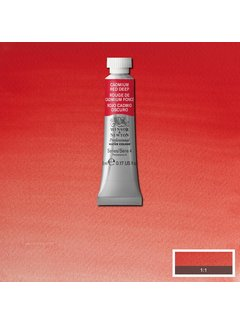 Winsor & Newton W&N pro. aquarelverf tube 5ml Cadmium Red Deep Deep