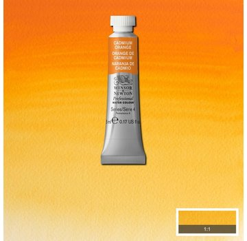 Winsor & Newton W&N pro. aquarelverf tube 5ml Cadmium Orange