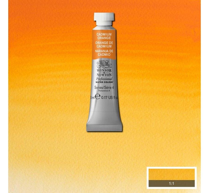 W&N pro. aquarelverf tube 5ml Cadmium Orange