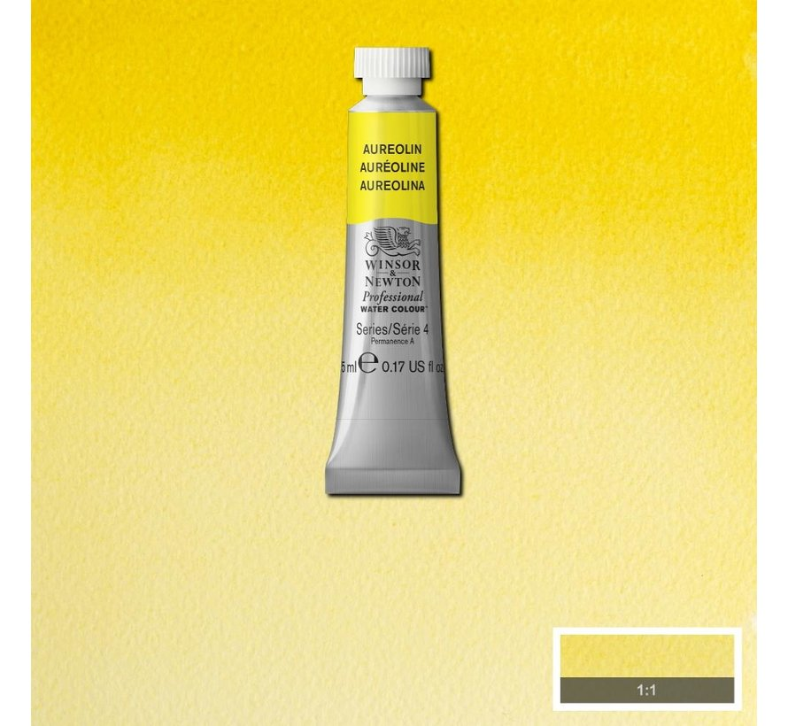 W&N pro. aquarelverf tube 5ml Aureolin
