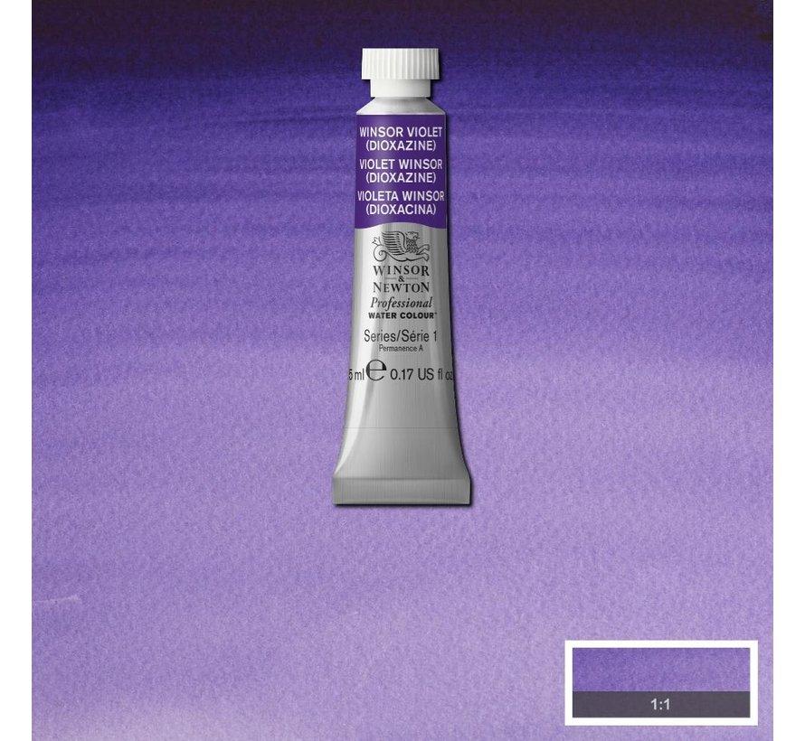 W&N pro. aquarelverf tube 5ml Winsor Violet (Dioxazine)