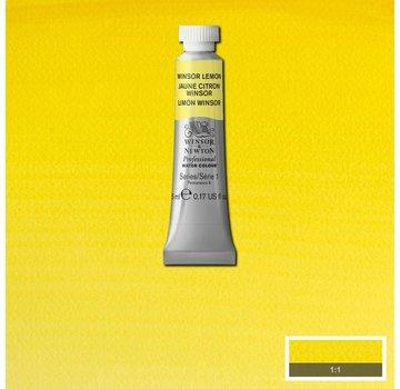 Winsor & Newton W&N pro. aquarelverf tube 5ml Winsor Lemon